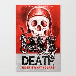 Death Rider III Canvas Print