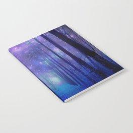 Fantasy Path Purple Blue Notebook