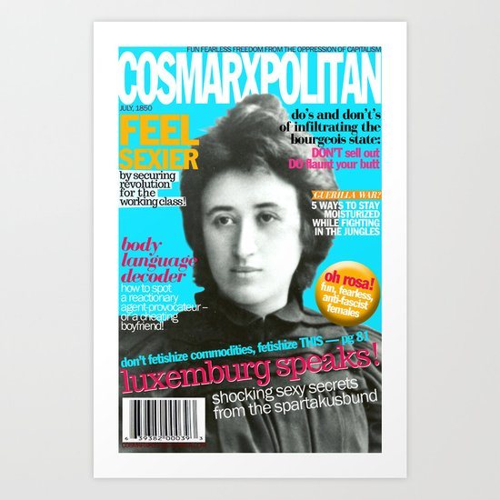 COSMARXPOLITAN, Issue 13 Art Print