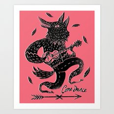 Come Dance Art Print