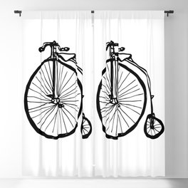 Penny Farthing Blackout Curtain