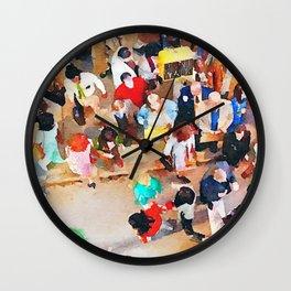 Wisdom of Crowds Wall Clock