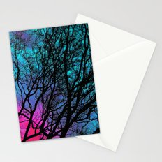 Behind The ol' Crape Myrtle Stationery Cards