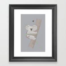 I Love You Too Framed Art Print