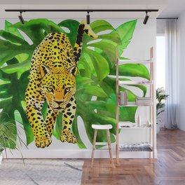 panther jungle Wall Mural