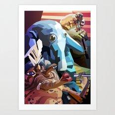 SW#21 Art Print