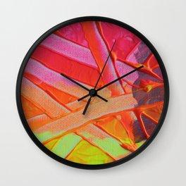 Fluoro Bloom II  Wall Clock