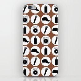 4 Elements Of Hip-Hop iPhone Skin