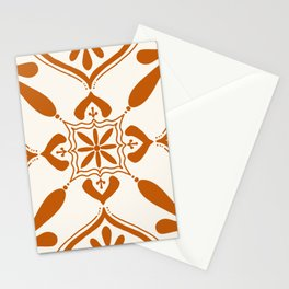 Terracotta Talavera Tile Stationery Cards