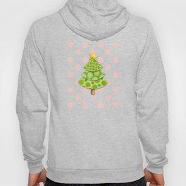 Pink Polka Dots Christmas Hoody