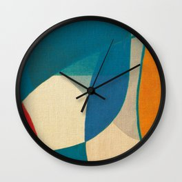 Samba School Passerby Wall Clock