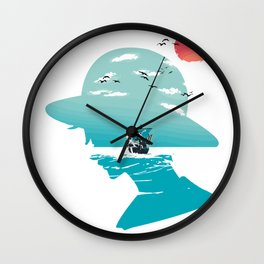 The King of Pirates Wall Clock