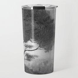 The Dark Forest (B&W) Travel Mug