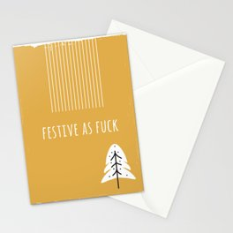 Foul Mouth Designs :: Festive As Fuck Stationery Cards