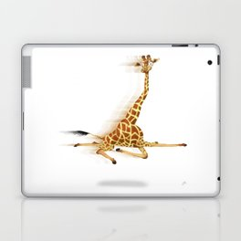 Running Giraffe / Jirafa Corriendo Laptop & iPad Skin