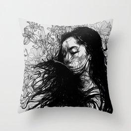interrupted Throw Pillow