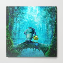 MONSTER INC Metal Print