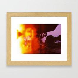 The Light was Lost Framed Art Print