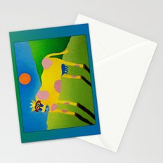Udderly Abstract #7 Stationery Cards