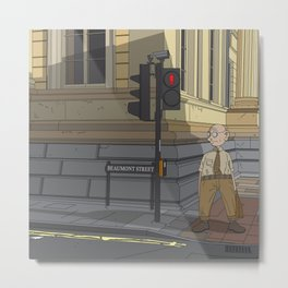 Oxford - Beaumont Street Metal Print