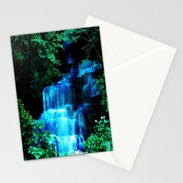Enchanted waterfall. Stationery Cards