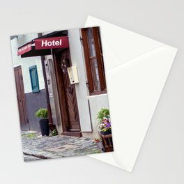 D - Ulm Hotel norrow Hotel Stationery Cards