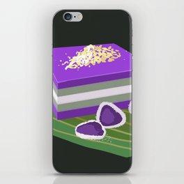 sapin-sapin (and ube coconut rice balls) iPhone Skin