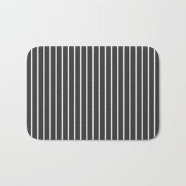Pinstriped Bath Mat