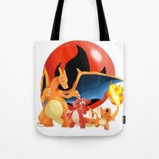 Spit Fires Tote Bag