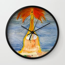 Dressed for Dinner Wall Clock