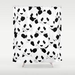 Panda pattern Shower Curtain