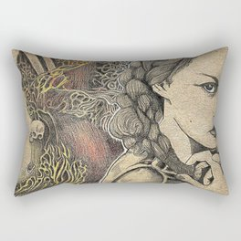 The Arsonist's Vision Rectangular Pillow