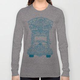 Pakistani Truck. (Light Blue) Long Sleeve T-shirt