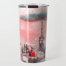 Sao Paulo - WaterColor 003D Travel Mug