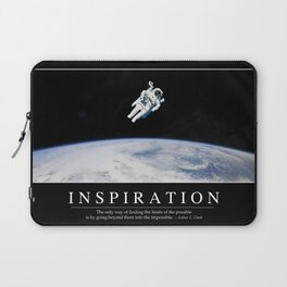 Inspiration: Inspirational Quote and Motivational Poster Laptop Sleeve
