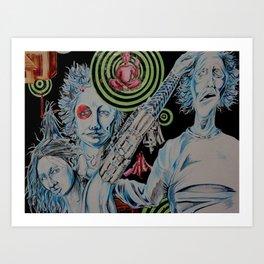 TechnoTrain Art Print