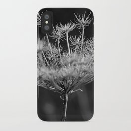 Withered pointed hogweed iPhone Case