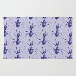 Purple Ant Rug