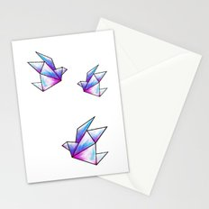 Origami Pastels Stationery Cards