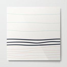 Coit Pattern 73 Metal Print
