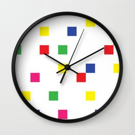 Blocks Set Wall Clock