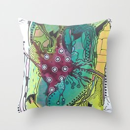Abstract Explorations 2 Throw Pillow