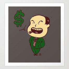 Mr. Business Art Print