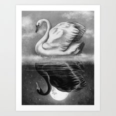 Dark Mirror  Art Print