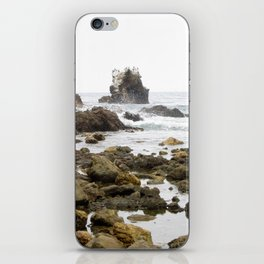 Rock Arch at Crystal Cove, Newport Beach, California iPhone Skin