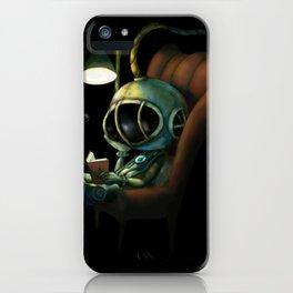Deep Sea Reader iPhone Case