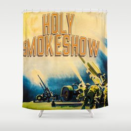 Smokeshow Shower Curtain