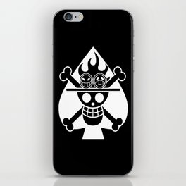 Fire fist ace iPhone Skin