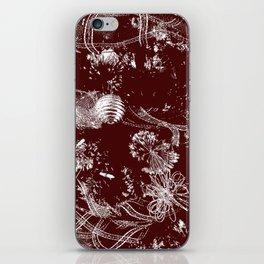 Tree Stamp iPhone Skin