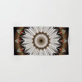 Feather Design Hand & Bath Towel